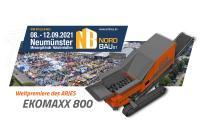 ARJES EKOMAXX 800 Weltpremiere auf der NordBau 2021