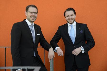 neno BPWN 2014 Prämierung Phase3 - 3 Platz Coredinate Sebastian und Michael Kulig (Bildnachweis: netzwerk nordbayern.)