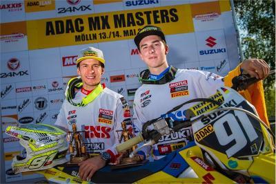Suzuki Double Victory in Molln ADAC MX