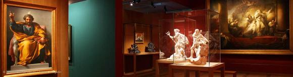 Exposition « L'Antiquité rêvée. Innovations et résistances au 18e siècle », présentée au musée du Louvre du 2 décembre 2010 au 14 février 2011. © 2010 musée du Louvre / Antoine Mongodin