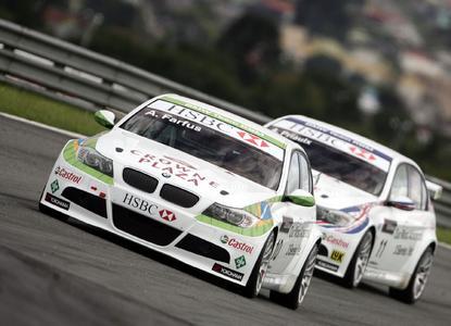 In der Tourenwagen-Weltmeisterschaft (WTCC) unterstützt die Schaeffler Gruppe das BMW Team mit Andy Priaulx und Augusto Farfus