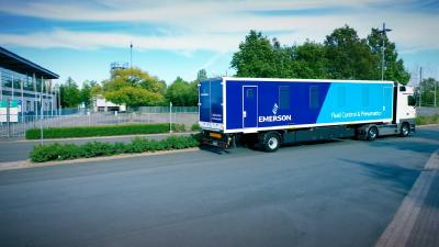Emerson startet mobile Roadshow in Europa