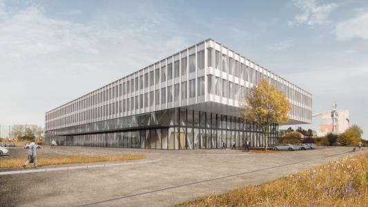 Der Neubau der SKAN AG in Allschwil