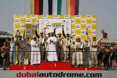 24h Dubai   Siegerpodium