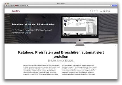 Screenshot Startseite printausleitung.de