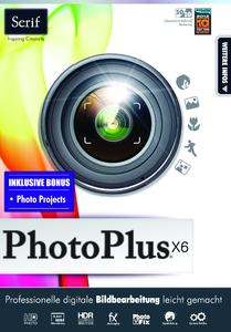 Professionelle Bildbearbeitung  leicht  gemacht: Serif PhotoPlus X6