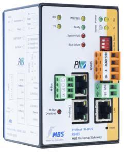 MBS multi Gateway PROFINET+M-Bus