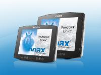 Die neuen noax Compact PCAP Multi-Touch-Industrie-PC C12P und C15P für den anspruchsvollen Industrieeinsatz in Produktion und Lager & Logistik