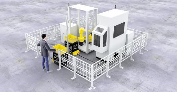 Gemeinsam mit dem Roboterspezialisten fpt zeigt SSI Schäfer eine standardisierte Piece Picking Applikation, die branchenübergreifend bei typischen Kommissionieraufgaben eingesetzt werden kann