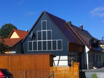 Fassadenanlage Solar