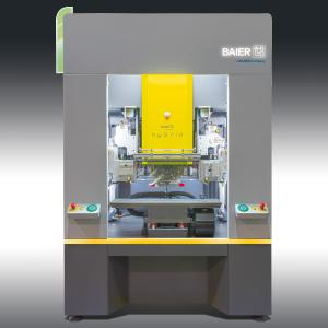 The new Baier hybrid machine for hot stamping decoration and digital printing / Photo: Kurz