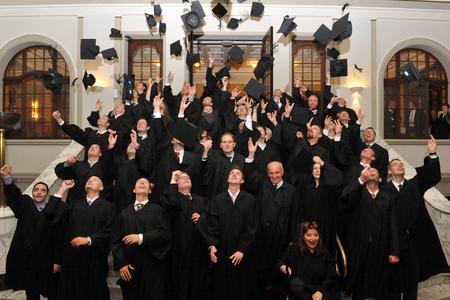MBA-Absolventen des MBA-Fernstudienprogramms am RheinAhrCampus