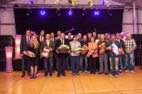Rund 30 Jubilare wurden für ihre langjährige Betriebszugehörigkeit im Fertigteilwerk Zeithain geehrt / Credit: FUCHS Fertigteilwerke