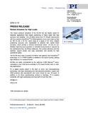 PR PDF M-238 Robust Actuators for High Loads