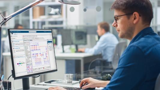 t dem PLM 3DExperience Connector steht eine neue Standardin-tegration für Eplan zur Verfügung, Quell: Eplan GmbH & Co. KG