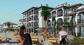 Die Byala Beach Residence an der bulgarischen Schwarzmeerküste.