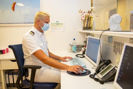 MEDIGENIC auf TUI Kreuzfahrtschiff
