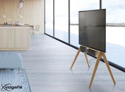 Vogel's NEXT OPSOUND - Soundbarhalterung mit Vogel's NEXT OP2 TV Ständer