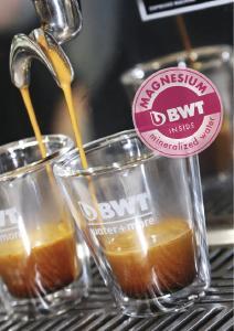 Bester Kaffeegenuss dank ideal abgestimmtem Mineralienverhältnis  /Foto: BWT water+more
