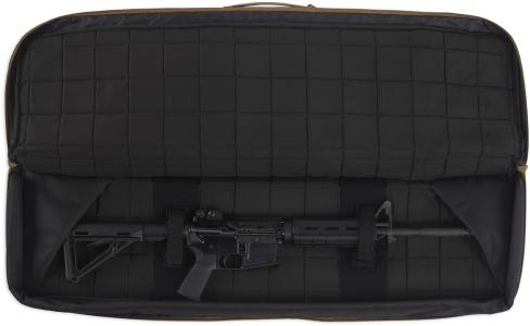 Langwaffen Futteral Tactical Innenansicht schwarz