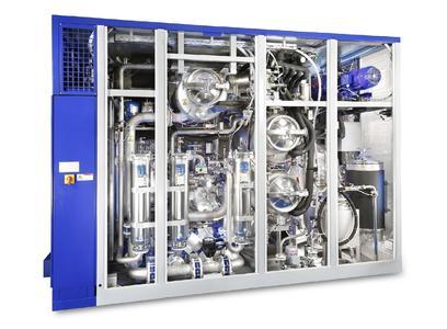 Um hohe Sauberkeitsanforderungen zu erfüllen oder die Konservierung in den Reinigungsprozess zu integrieren lassen sich die Lösemittelanlagen mit mehreren Tanks und Flutbehältern für eine mehrstufige Reinigung ausstatten.