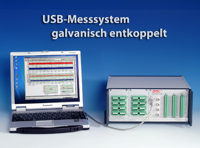 Isoliertes USB Messsystem