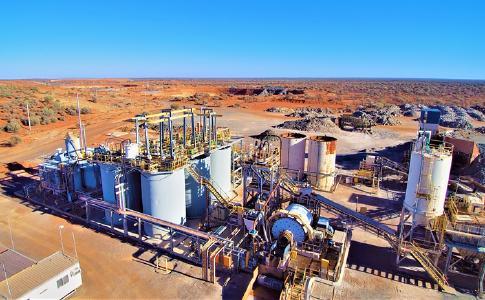 Anlage auf dem Murchison-Projekt; Foto: Monument Mining
