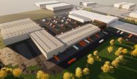 Bis 2023 werden am Gebrüder Weiss Standort Budapest auf 22.000 Quadratmetern neue Büro- und Logistikkomplexe errichtet – das entspricht nahezu einer Verdoppelung der aktuellen Gesamtfläche (23.000 Quadratmeter) / Quelle: Gebrüder Weiss