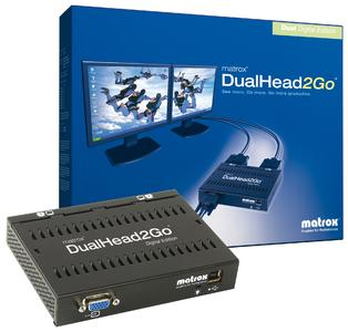 Matrox DualHead2Go Digital Edition - box&box