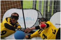 Goalball-Bundesliga mit 3M Opticlude Augenpflastern