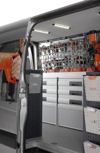 Ladungssicherungsnetz für den Fahrbetrieb
