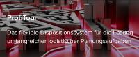 ProfiTour ist ein Tourenplanungssystem, das durch vielfältige Parametrisierungmöglichkeiten strategisch oder operativ zum Einsatz kommen kann.