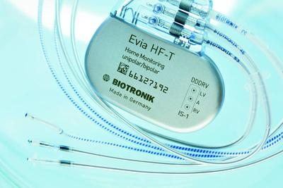 BIOTRONIK Evia HF-T, World's First MRI-Approved CRT Pacemaker