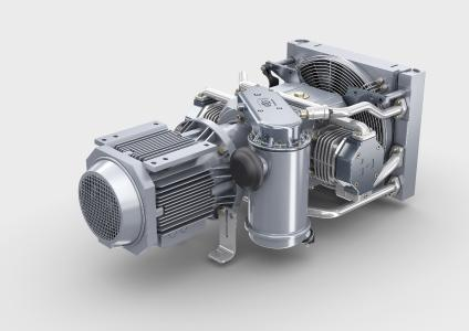 At EXPO 1520 in Moscow, Knorr-Bremse is presenting its solutions for the 1,520-millimeter wide-gauge market for rail technology on booth 54 in Hall 2, where exhibits will include the VV120-T oil-free compressor (© Knorr-Bremse)