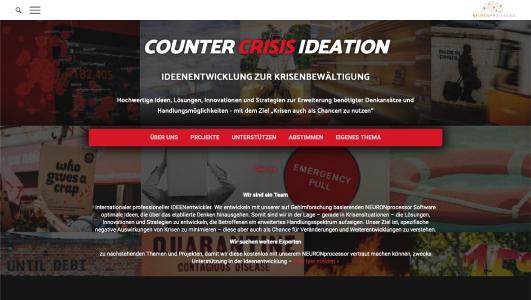 COUNTER CRISIS IDEATION | IDEENENTWICKLUNG ZUR KRISENBEWÄLTIGUNG
