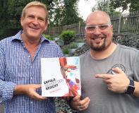 Der individuelle Weg zum Markenerfolg ist da: 'Erfolg braucht dein Gesicht' von Edgar K. Geffroy und Ben Schulz.