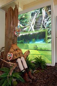 Thema Natur im Pavillon
