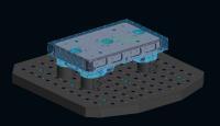 Die Visualisierung im 3D-Modell verdeutlicht Störkonturen im Vorfeld und verhindert Kollisionen. ©Bildquelle: AMF