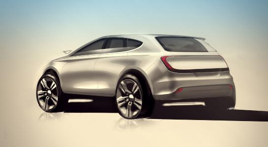 Automobiler Leichtbau: Für die Fahrzeuge der Zukunft werden leichte und feste Bauteile benötigt, die sich günstig herstellen lassen. (Grafik: Juan ValldeRuten / Creative Commons)