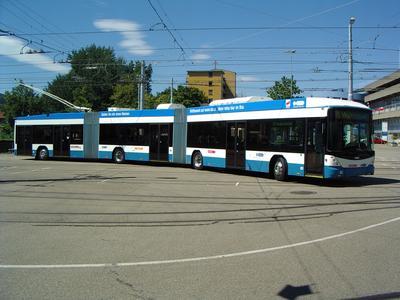 24 m-Doppelgelenk-Trolleybussen