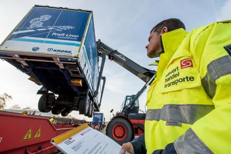 Vergangene Woche rollte der erste Güterzug von Ludwigshafen nach Osnabrück