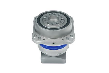 Das eingesetzte Getriebe RP+060 mit Übersetzung i=110 erfüllt hohe Anforderungen an Leistungsdichte, Präzision, Steifigkeit und zulässige Kippmomente.
