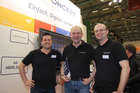 AixConcept-Team: Thomas Jordans, Volker Jürgens, Stefan Winandy