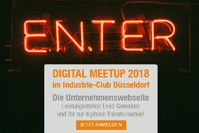 anyMOTION macht Industrie-Club Düsseldorf mit DIGITAL MEETUP zur Bühne der digitalen Transformation
