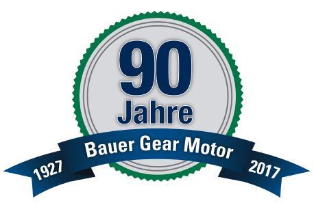 80 Jahre Bauer Gear Motor
