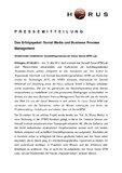 [PDF] Pressemitteilung: Das Erfolgspaket: Social Media und Business Process Management