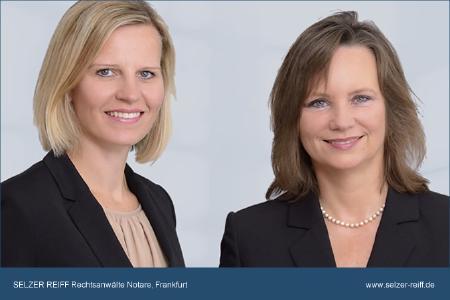 Sonja Reiff und Bettina Selzer (v.l.n.r.) - Kanzlei Selzer Reiff Rechtsanwälte Notare, Frankfurt
