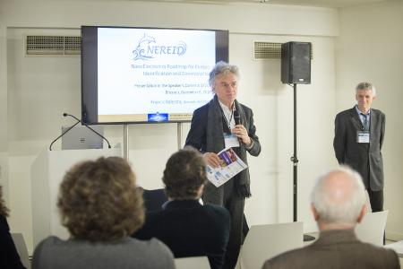 Patrick Corsi from CayaK-InnoV and Francis Balestra, coordinator of the NEREID project (Photo: Simon Pugh Photography)