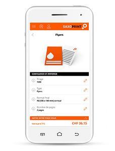 SAXOPRINT lance son site web pour les appareils mobiles