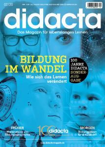 Titelblatt der Jubiläumsausgabe des didacta Magazins